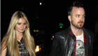 Aaron Paul back in LA with fiancée Lauren Parsekian after shooting in Europe  130753