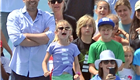 Ben Affleck and Jennifer Garner take their daughters to a racing event in pacific Palisades 148249