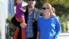 Ben Affleck and Jennifer Garner take Seraphina to get ice cream 146419