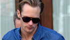 Alexander Skarsgard leaves his hotel in NYC 148729