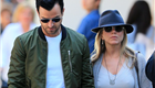 Jennifer Aniston and Justin Theroux hold hands in NYC 150620
