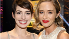 Anne Hathaway and Emily Blunt at the 18th Annual Critics' Choice Awards 136322