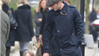 David Beckham and daughter Harper go for a walk in Kensington  144067