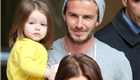 David and Victoria Beckham shopping in Paris with daughter Harper 148822