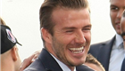 David Beckham and his PSG teammates leave Parc des Princes to celebrate their French League Title with fans at the Trocadero in Paris 151158