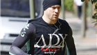 Channing Tatum goes for a run with his dog 148892