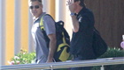 George Clooney and Stacy Keibler arrive in Mexico with Cindy Crawford and Rande Gerber 132820