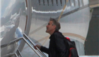 George Clooney, Matt Damon and Grant Heslov departing from Lugano, Switzerland 150584