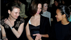 Renee Zellweger and Zoe Saldana front row at Miu Miu Fall/Winter 2013 with Rebecca Hall and January Jones during Paris Fashion Week  143055