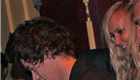 Harry Styles leaves Dantana's restaurant with Rod Stewart, Penny Lancaster, and Kimberly Stewart  148124
