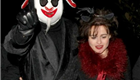 Helena Bonham Carter and Tim Burton at Jonathan Ross's Halloween party 130834