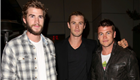 Liam Hemsworth, Chris Hemsworth, and Luke Hemsworth - April 2013 150210