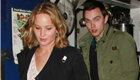 Jennifer Lawrence and Nicholas Hoult leaving The Little Door in West Hollywood after having dinner together  148463