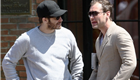 Jake Gyllenhaal and Jude Law hang out in New York  148178