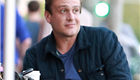 Jason Segel out for coffee with friends  143815