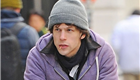 Jesse Eisenberg rides his bike in NYC 150776