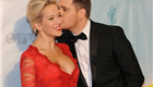 Michael Buble and his wife Luisana Lopilato at the 2013 Juno Awards at Brandt Centre in Regina, SK 147261