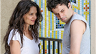 Katie Holmes holds hands with Luke Kirby on the set of Mania Days 150791