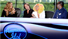 Mariah Carey, Keith Urban, Nicki Minaj, and Randy Jackson on the American Idol panel  137315