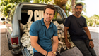 Mark Wahlberg and Denzel Washington attend the '2 Guns' photocall at the 5th Annual Summer Of Sony at the Ritz Carlton Hotel in Cancun 147463