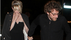 Michelle Williams holds hands with artist Dustin Yellin after the Met Gala 149847