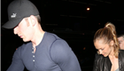 Chris Evans and Minka Kelly at the Bootsy Bellows night club in Los Angeles 148230
