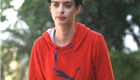 Krysten Ritter takes her dog for a walk 120198