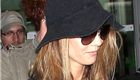 Vanessa Paradis arrives at Nice airport 120672