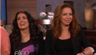 Salma Hayek and Maya Rudolph promote Grown Ups 2 on Ellen 147252