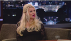 Jessica Simpson appears on Jimmy Kimmel  143110