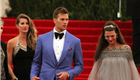 Gisele Bundche, Tom Brady, and Linda Evangelista at the 2013 Costume Institute Gala 149866