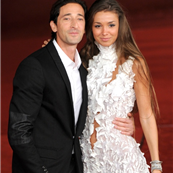 Adrien Brody and Lara Lieto attend the Back To 1942 Premiere during the 7th Rome Film Festival 131758