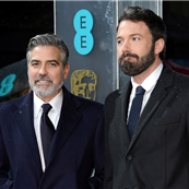 George Clooney and Ben Affleck at the 2013 BAFTAs 139692