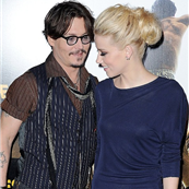 Johnny Depp and Amber Heard at the Paris premiere of The Rum Diary, 2011 131427