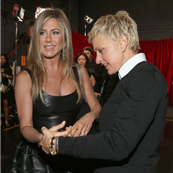Jennifer Aniston and Ellen Degeneres at the 39th Annual People's Choice Awards  136076
