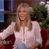 Jennifer Aniston on Ellen 120325