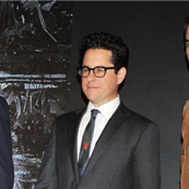 Benedict Cumberbatch, director J.J. Abrams and Chris Pine attend the 'Star Trek Into Darkness' Special Footage Presentation in Tokyo 134174