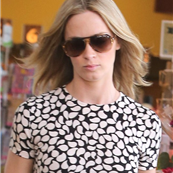 Emily Blunt grocery shopping at Whole Foods  120302