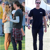 Exes at Coachella: Alexander Skarsgard and Kate Bosworth with Michael Polish at Coachella 2013  146686