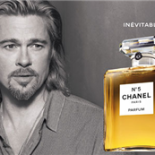 Brad Pitt for Chanel No5 129322