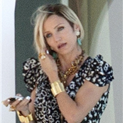 Cameron Diaz on the set of The Counselor 127719