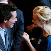 Carey Mulligan and Eddie Redmayne at a reception for the British Film Industry at Windsor Castle 145732