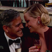 George Clooney and Amy Poehler at the 70th Annual Golden Globe Awards  136844