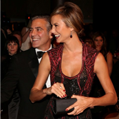 George Clooney and Stacy Keibler at the 26th Anniversary Carousel Of Hope Ball 129804