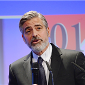 George Clooney is awarded with the 'Deutscher Medienpreis' award at Kongresscentrum (Congress Centre) in Baden-Baden 142181