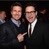 Tom Cruise and JJ Abrams at the Los Angeles premiere of Star Trek Into Darkness 151112