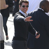 Tom Cruise outside the studio at Kimmel 146585