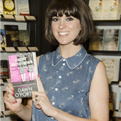 Dawn O'Porter attends a book signing for her novel 'Paper Aeroplanes' 120415