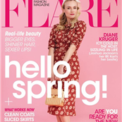 Diane Kruger covers FLARE, April 2013  143301