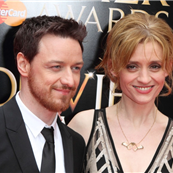 James McAvoy and Anne-Marie Duff at the 2013 Olivier Awards 148193